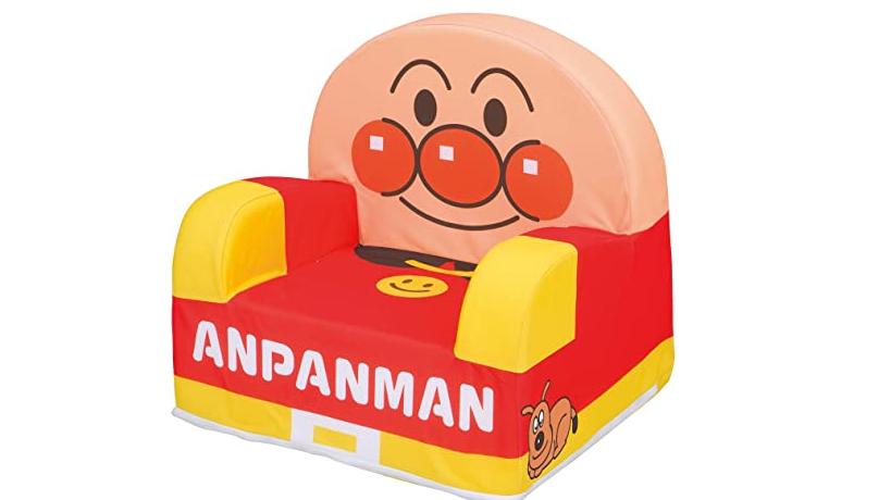アンパンマン やわらかキッズソファー 販売価格4,200円(税抜)