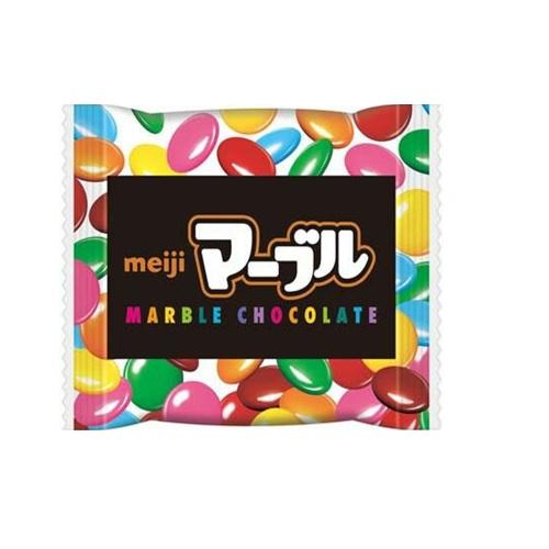 マーブルチョコレート 明治 販売価格28円(税抜)