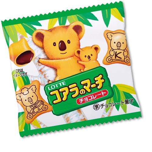 コアラのマーチミニパック ロッテ 販売価格28円(税抜)