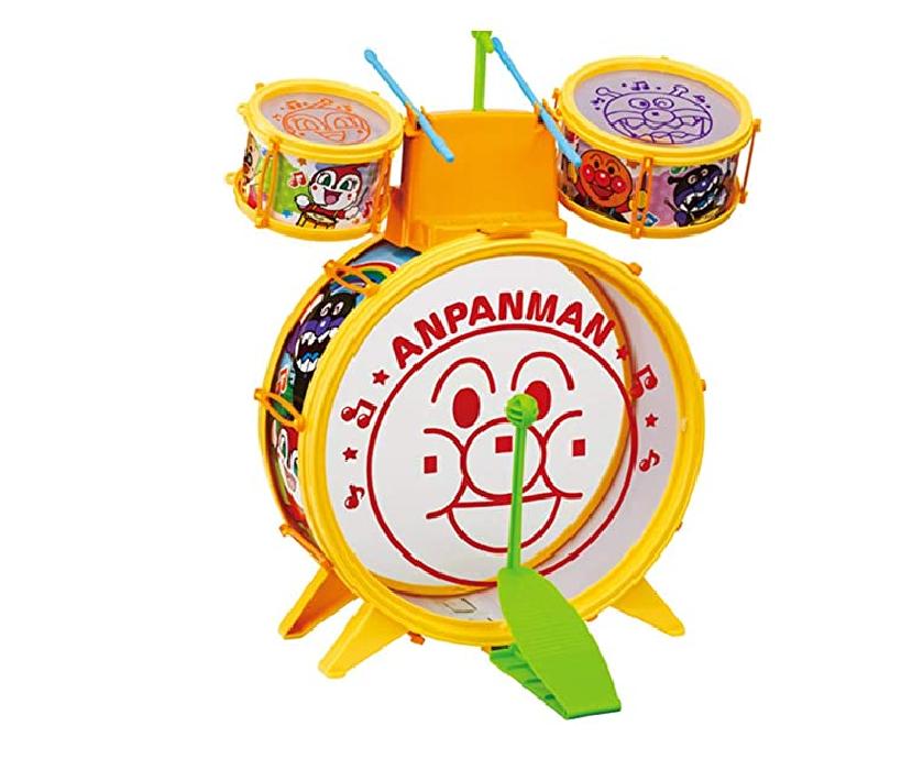 アンパンマンうちの子天才 おおきなドラムセット 販売価格2,660円(税抜)